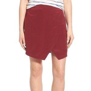 Madewell Silk Asymmetrical Skirt